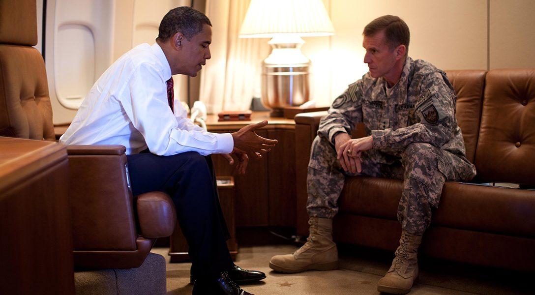 Barack Obama, Stanley McChrystal