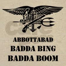 Image of text: Abbottabad Badda Bing Badda Boom