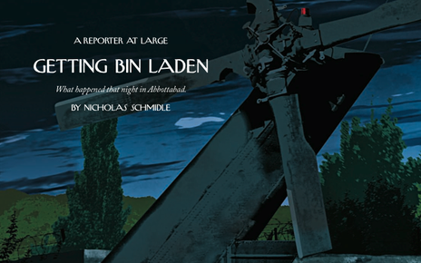 Cover image for story: Getting bin Laden