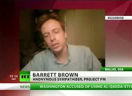 Barrett Brown, spokesperson