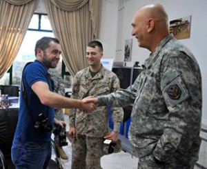 Michael Hastings interviews General Odierno in Baghdad, Iraq, October 2009