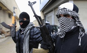 Syrian opposition troops