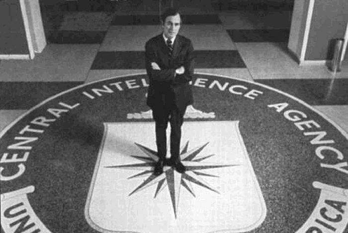 CIA, Director, George H.W. Bush