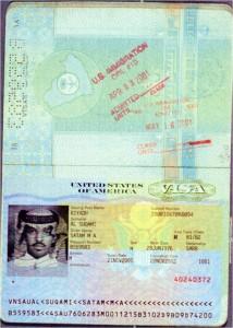 Suqami-passport-US-visa-and-immigration-stamps