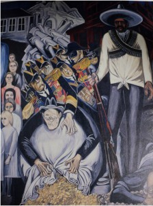 Mural by Jose Clemente Orozco