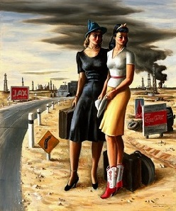 """Oil Girls"" by Jerry Bywaters"