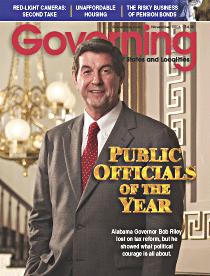 Former governor of Alabama, Bob Riley