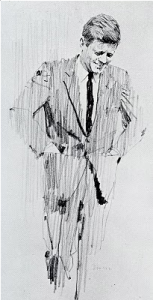 Sketch by Bernie Fuchs