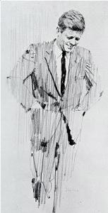 Sketch by Bernie Fuchs