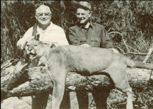 D. Harold Byrd on safari, circa November 1963