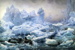 Greenlanders Hunting Walruses, François-Auguste Biard