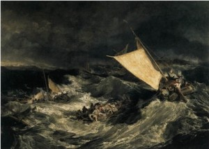 """Shipwreck"" by J.M.W. Turner, 1805"