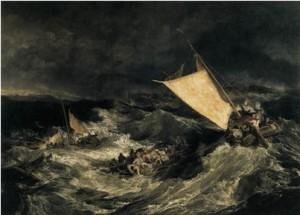 """Shipwreck"" by J.M.W. Turner, 1805"