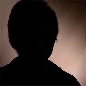 """Danny"" in silhouette, interview with CBS News"