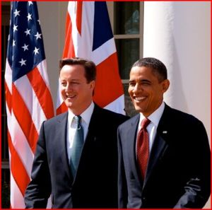 Prime Minister David Cameron and President Barack Obama