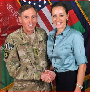 Gen. David Petraeus and Paula Broadwell