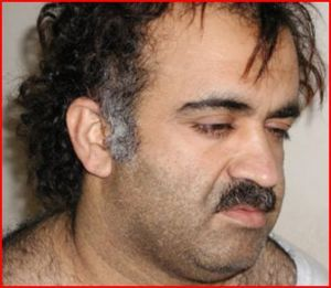 Khalid Shaikh Mohammed, alleged 9/11 architect, after his 2003 arrest