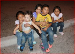 What are fleeing children afraid of? Gangs….