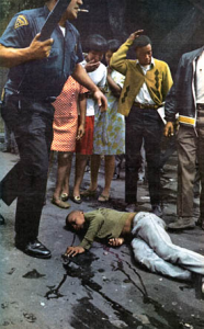 Violence in Newark Riots