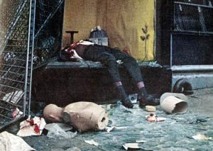 A victim of the Newark Riots