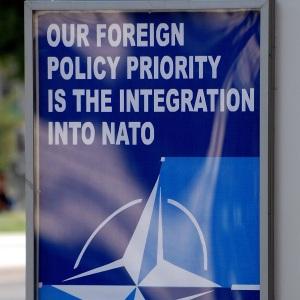 NATO's expanding again.