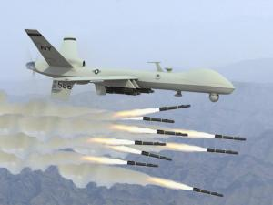 War on the Imminence Front: A Reaper drone rains down Hellfire missiles