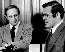 Photo of Cheney and Rumsfeld in 1974