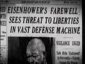 Eisenhower's farewell warning