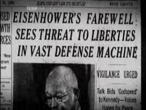 Eisenhower's farewell warning