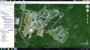Google Earth view of Mount Weather COG Nerve Center