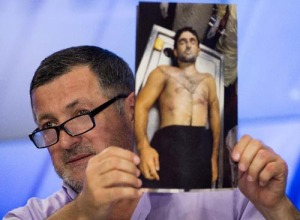 The father of Ibragim Todashev displays end result of FBI interview.