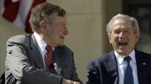 George H.W. Bush and Son.