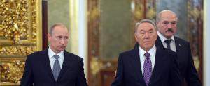 Putin stands alone leading Eurasian Economic Union dream.