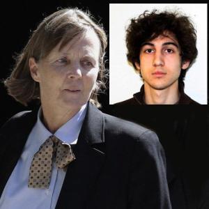 Judy Clark, Dzokhar Tsarnaev's lead lawyer.
