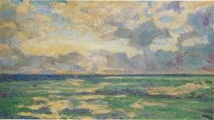 "Winston Churchill's ""Daybreak at Cassis."""