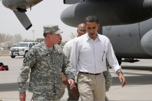 Petraeus and President Obama in better days.