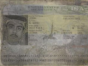Passport de Saeed al-Ghamdi