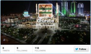 """Tsarnaev's """"Secret"""" Twitter Account"""