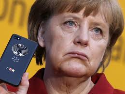 Angela Merkel's Phone Tapped By NSA