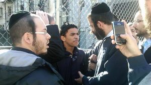 The Shomrim in action.
