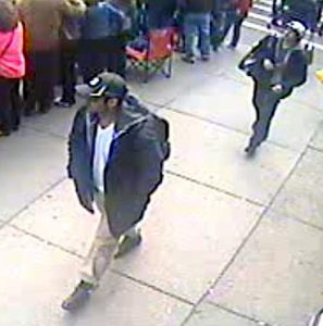Why were the Tsarnaev brothers in this surveillance video?