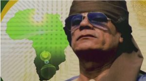 Filmmakers argue that Mohammar Gaddafi had to be removed from power for the US military's AFRICOM project to succeed.