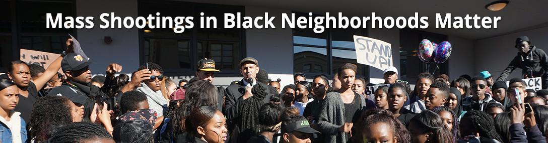 black mass shootings matter