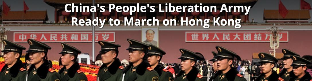 China, People's Liberation Army, Hong Kong