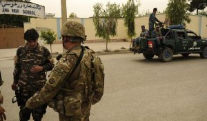 US funding for the salary of Afghan security forces remains a challenge.