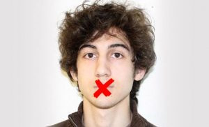 The fact that Dzhokhar Tsarnaev has not yet spoken in his own defense may be less about national security and more about muzzling the truth.