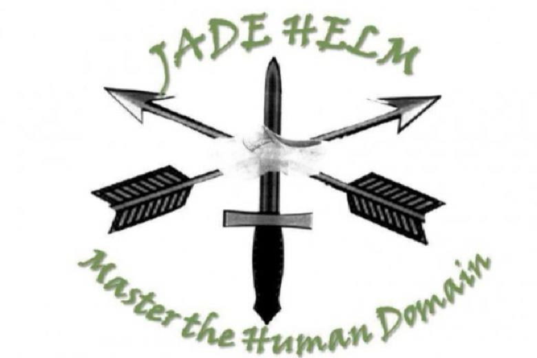 "Jade Helm emblem and motto: ""Master the Human Domain."" Watch the Army's official Jade Helm presentation here."