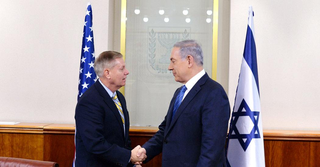 Lindsey Graham Files, Part II: Kissing Netanyahu's Ring