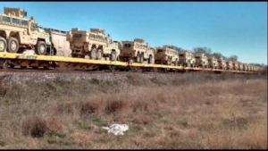 Armor related to Operation Jade Helm across Texas.