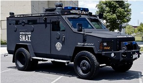 Nashville, TN, Police BearCat